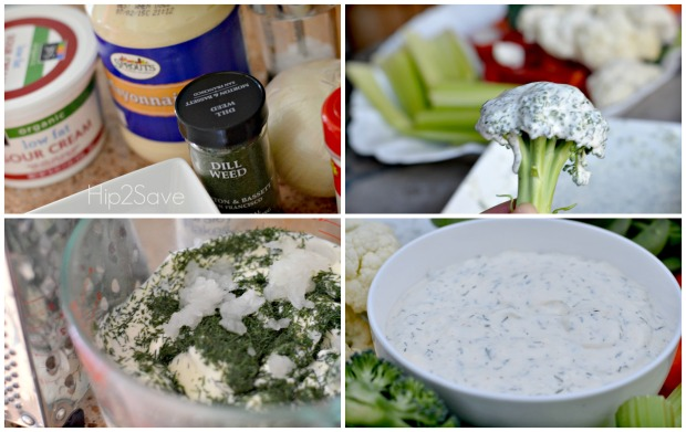 How to make dill dip hip2save