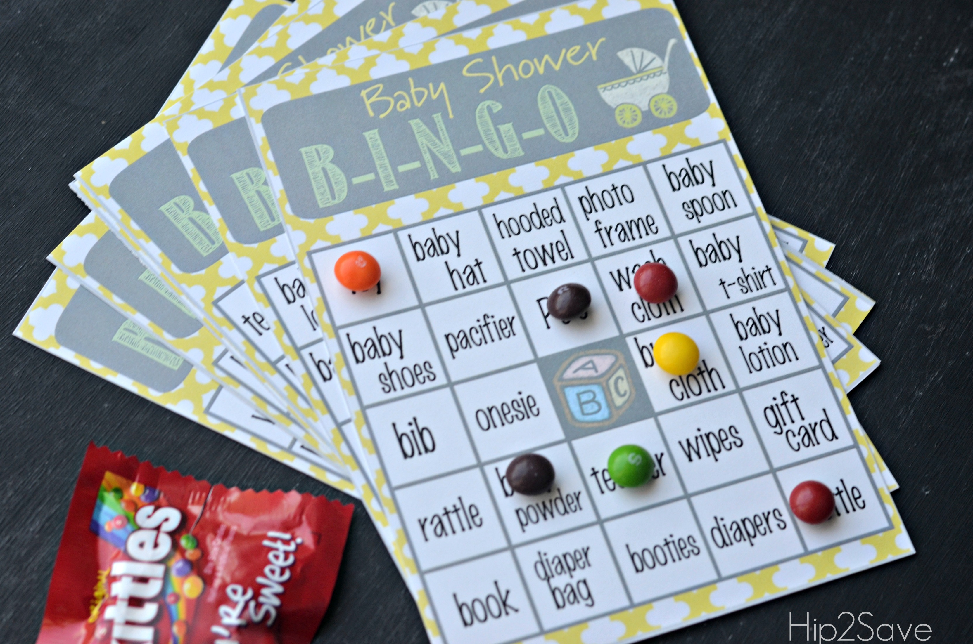 How to play Baby Shower Bingo - Hip2Save