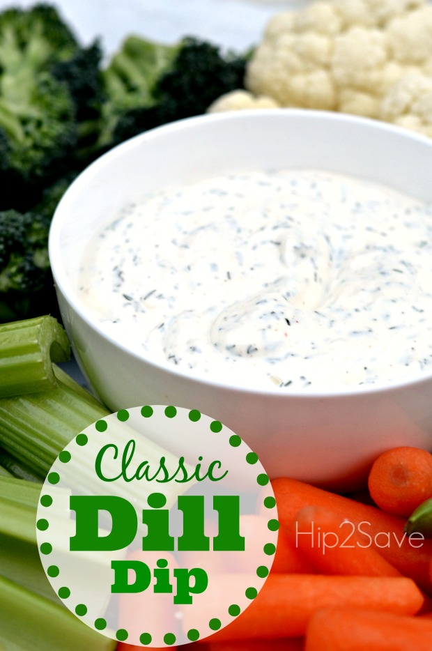 Classic Dill Dip (Easy Appetizer Idea)