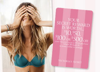Victoria's Secret: 7 for $27 Panties + Free Secret Reward Card with $10  Purchase & More - Hip2Save