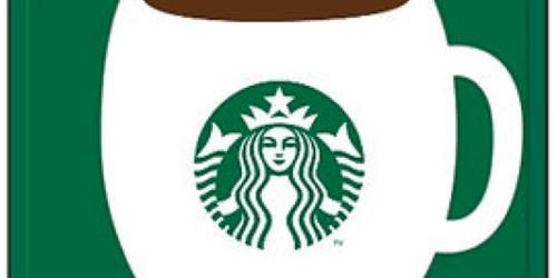 Huggies Rewards: $15 Starbucks Gift Cards 750 Points