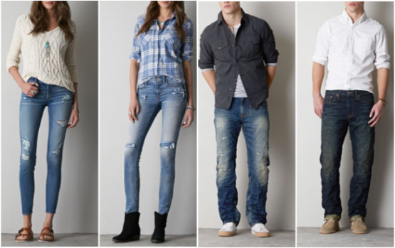 849871572b834 American Eagle Outfitters   10 Off Select Men s   Women s Jeans (+ Buy 1  Get 1 50% Off Select Shorts)