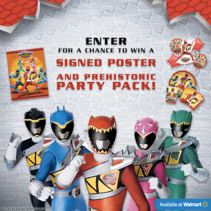 Power Ranger Sweepstakes: Enter to Win $300 Birthday Party
