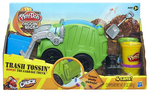 Kohl S Play Doh Diggin Rigs Rowdy The Garbage Truck 11