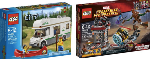 amazon deals save on lego sets movies pop tarts annie s fruit