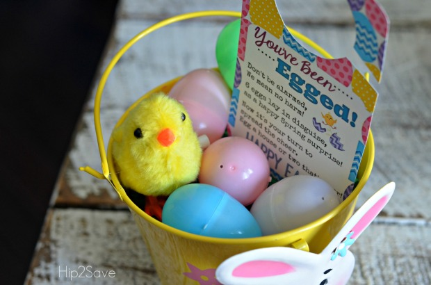 You've Been Egged Easter Printable Hip2Save