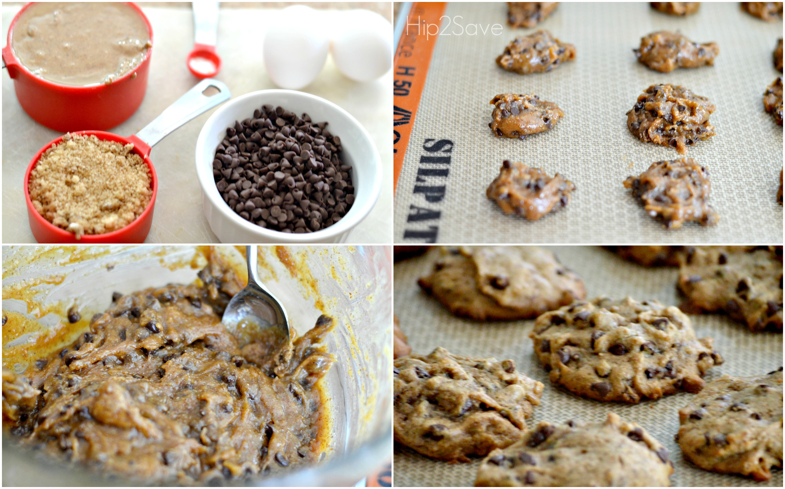 Almond Butter Chocolate Chip Cookies Hip2Save
