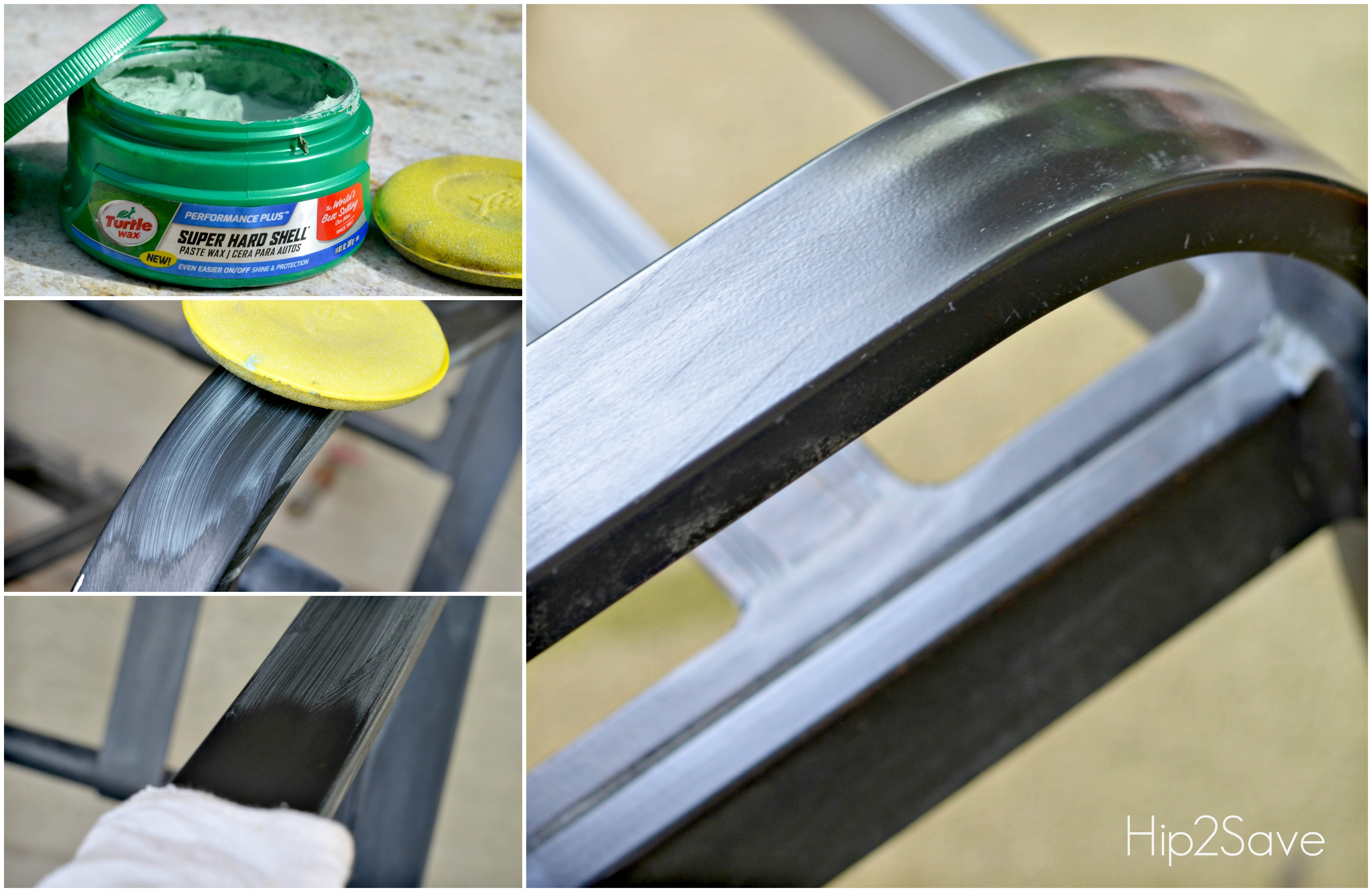 Car Wax trick for Patio Furniture Hip2Save