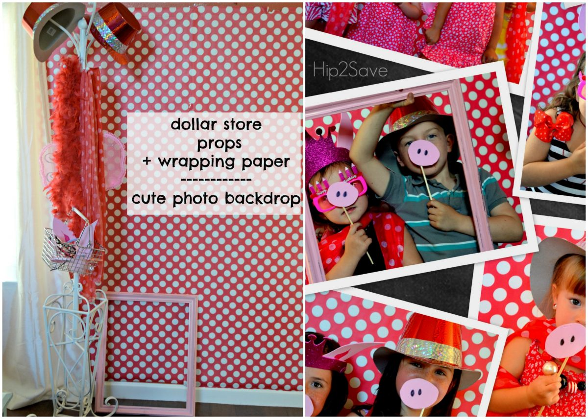 DIY Photo Booth Birthday Party Hip2Save