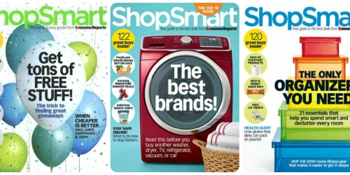 ShopSmart Magazine Subscription Only $14.96