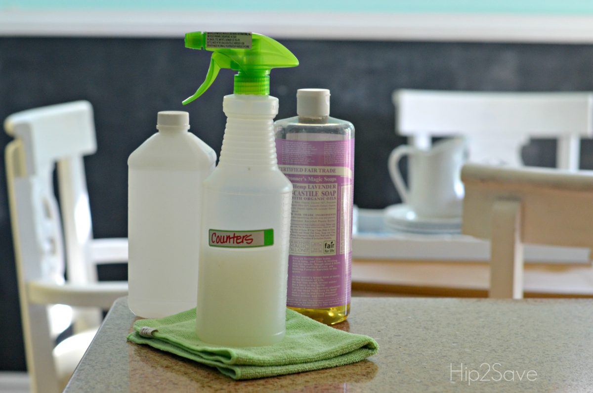 Homemade Cleaner for Counters Hip2Save