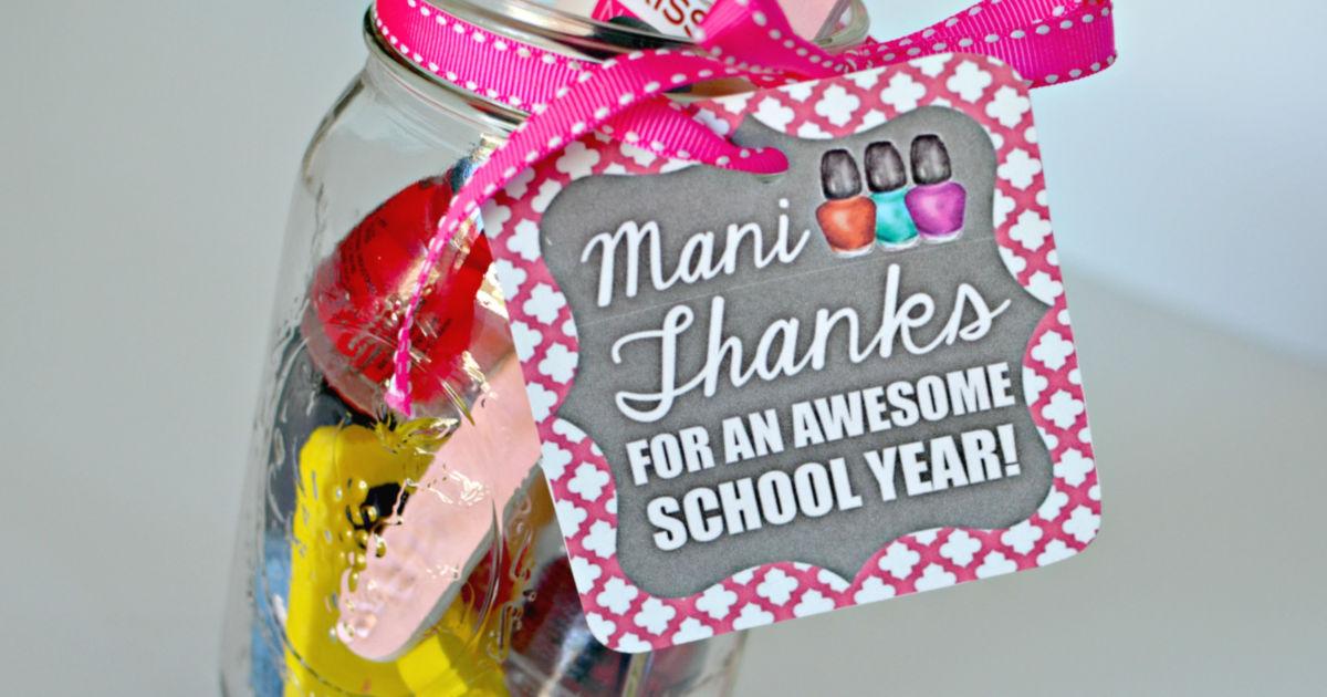 photo regarding Free Printable Teacher Appreciation Gift Tags referred to as Instructor Appreciation Reward Concept: \