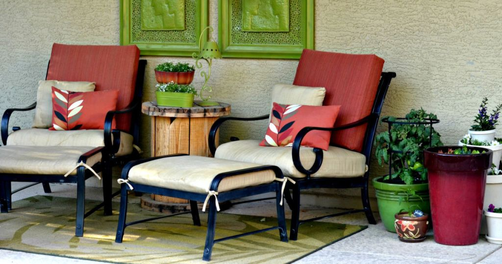 refresh patio furniture