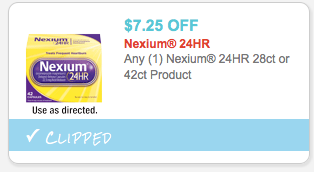 graphic about Nexium Coupons Printable titled Fresh new* $7.25/1 Nexium 24-Hour Coupon \u003d 28-Rely Simply just $8.49 at
