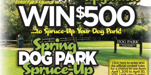 Military: Enter to Win $500 For Your Dog Park (+ April Commissary Deals & Coupons)