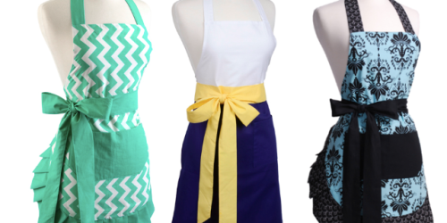 Flirty Aprons: 60% Off + FREE Shipping = Women's Aprons Only $10.78, Kid's Bibs Only $2.78 + More