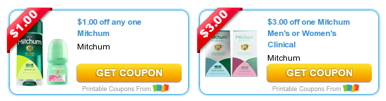 photo relating to Mitchum Printable Coupon referred to as Fresh new Mitchum Deodorant Discount codes - Print Conserve $4 - Hip2Help you save