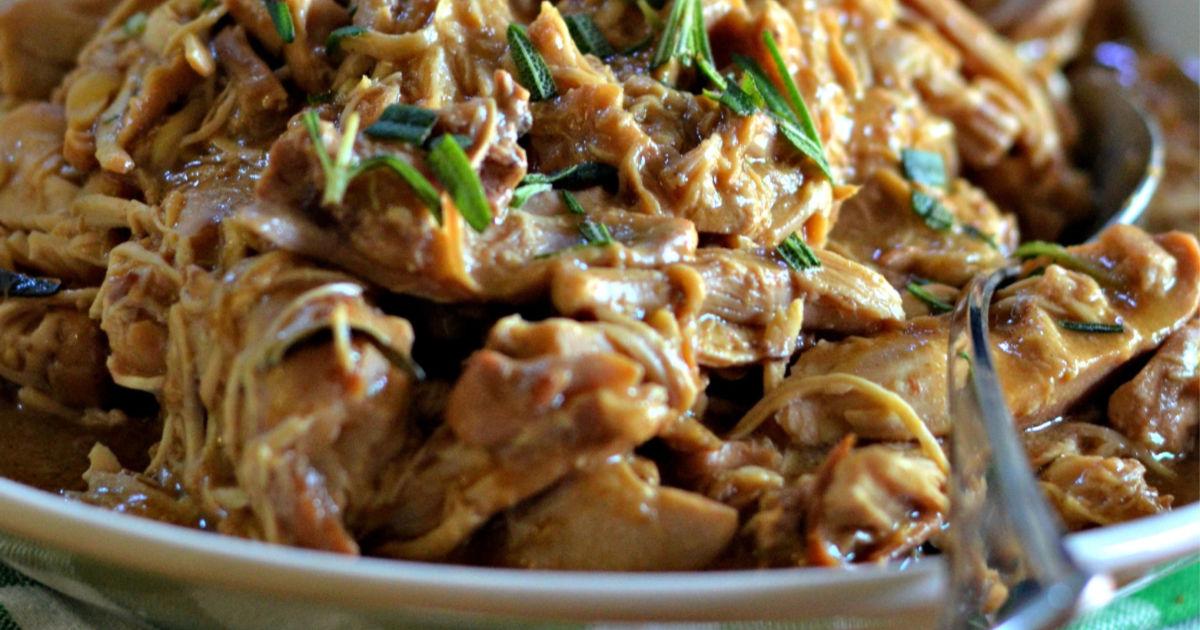 slow cooker chicken recipe