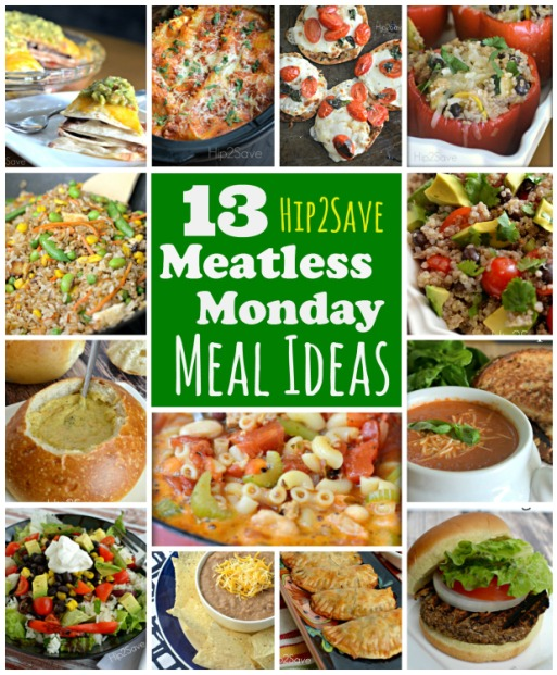 13 meatless monday meal ideas Hip2Save