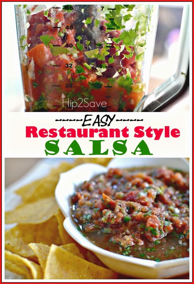 Easy Restaurant Style Salsa Hip2Save