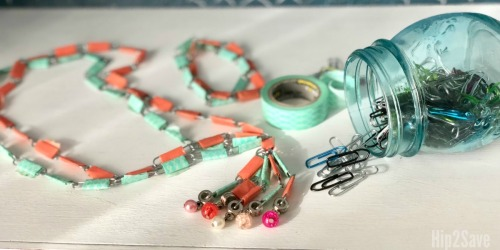 Paper Clip Jewelry (Fun Summer Break Craft)