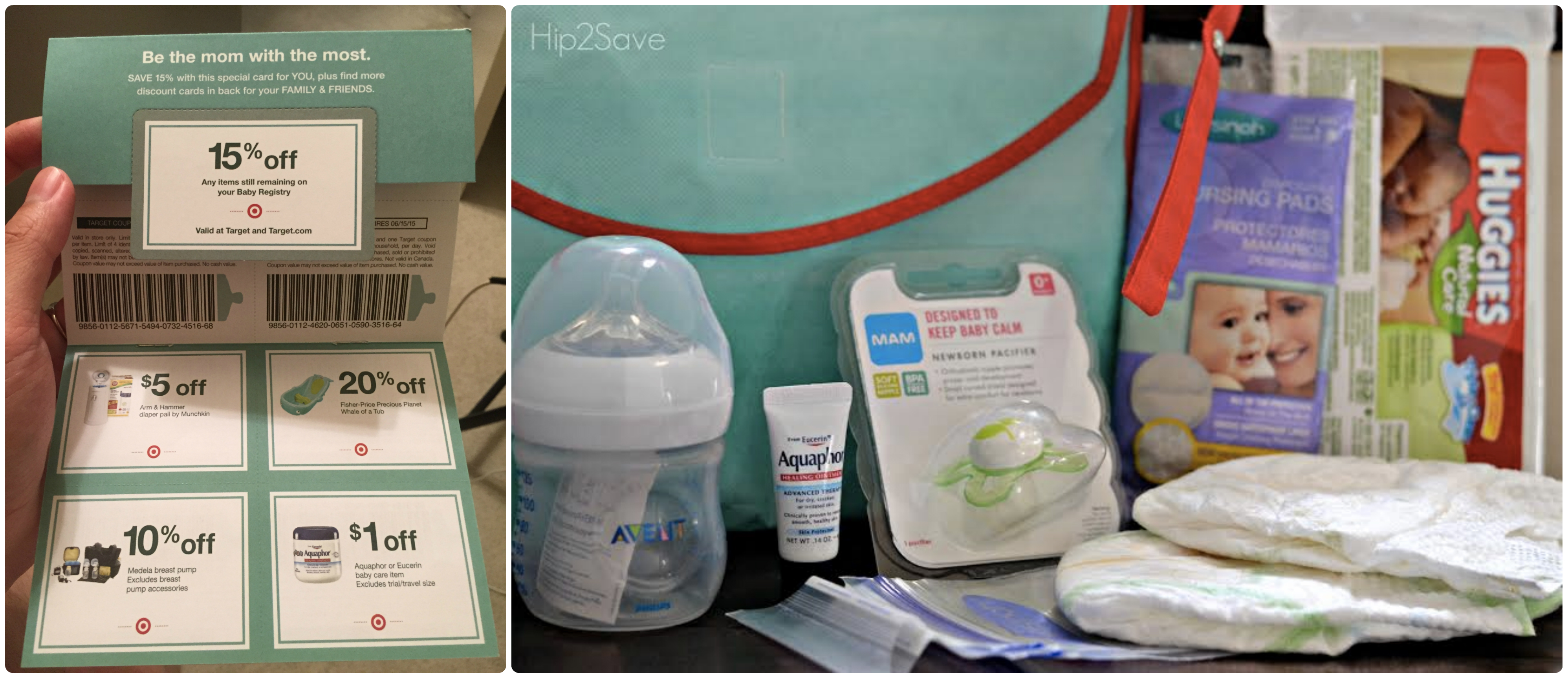 Target Baby Registry Free Welcome Gift Over 60 Value Coupons Samples More Reader Tip Hip2save