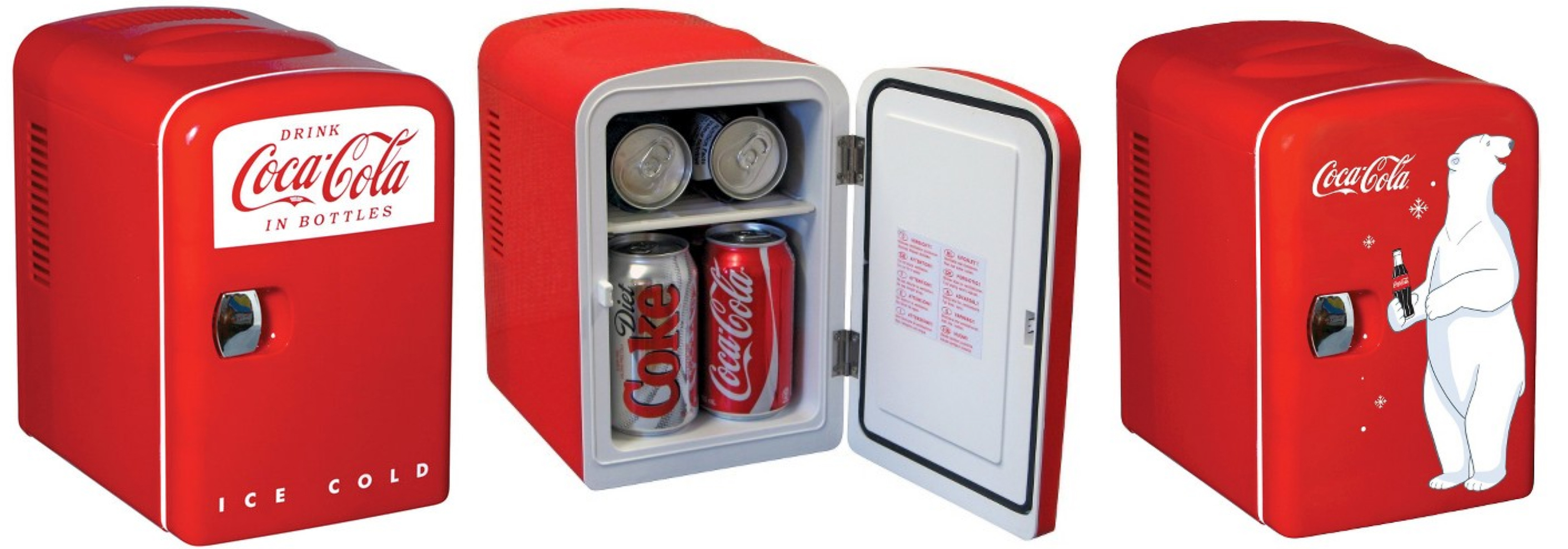 HomeDepot.com: 40% Off Coca-Cola Retro Or Personal Fridges