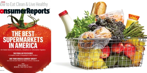 Subscription to Consumer Reports Magazine ONLY $1.54 Per Issue (76% Off Cover Price)