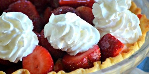 Your Next Summer Cookout is Calling for Our Easy & Fresh Strawberry Pie