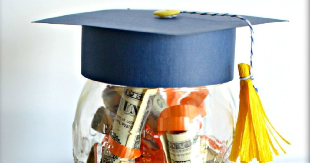 Graduation Hat Jar Graduation Gift Idea Hip2save