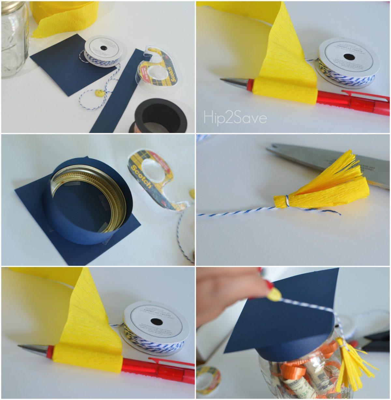 How to make a graduation hat jar hip2save