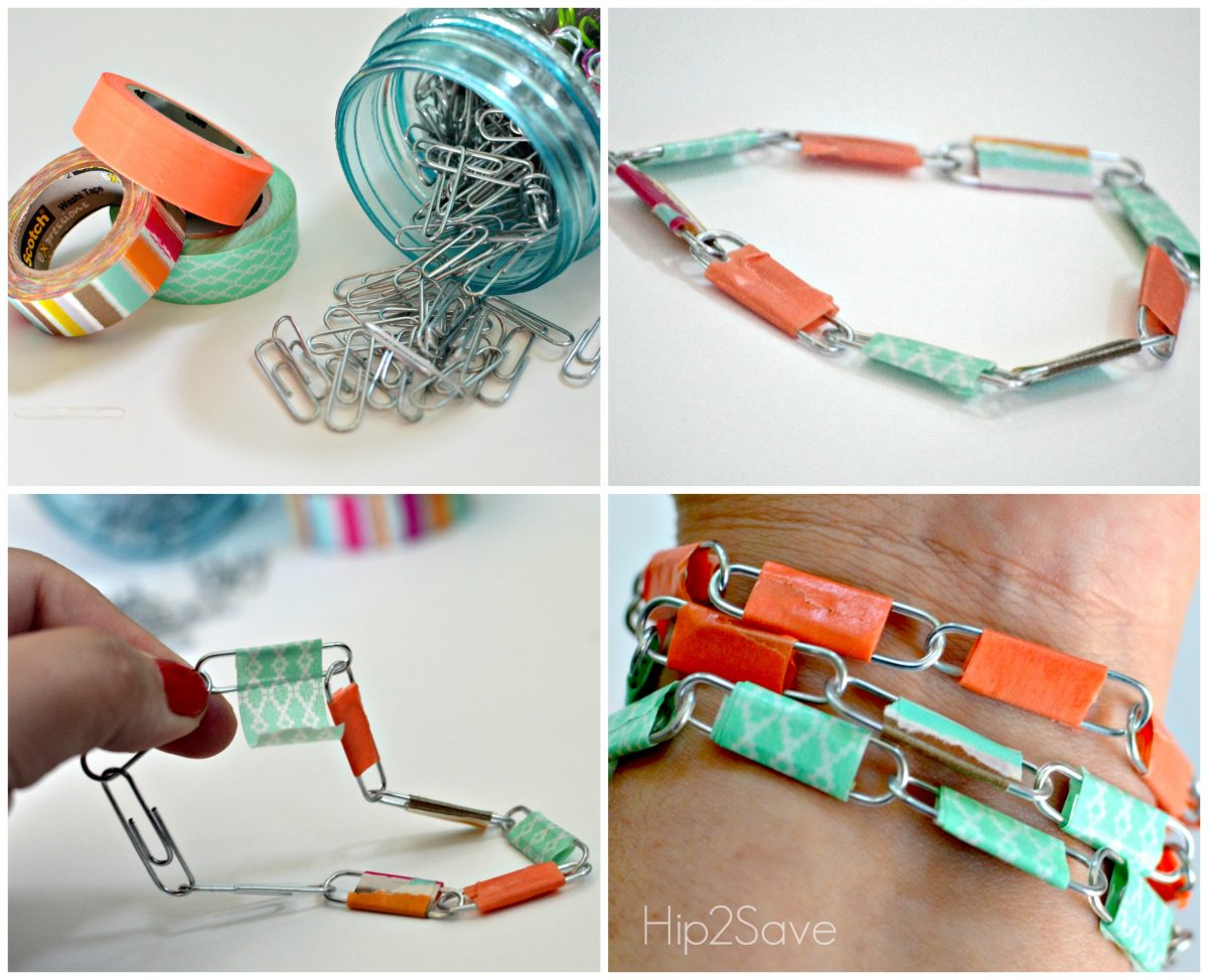 How to make paper clip jewelry Hip2Save
