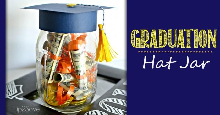 Graduation Hat Jar (Graduation Gift Idea)