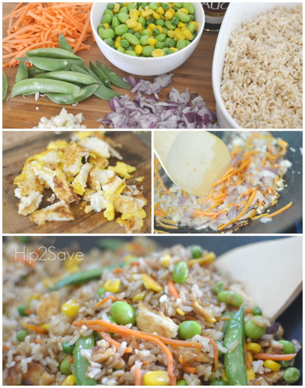 Making Fried Rice Hip2Save