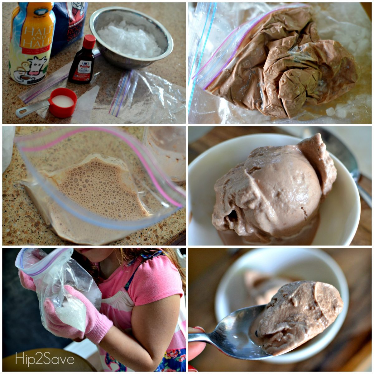 Making homemade ice cream without an ice cream maker Hip2Save