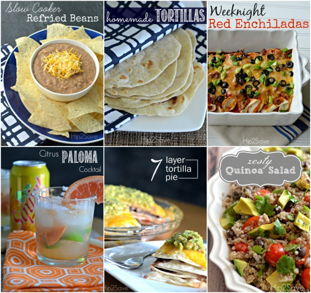 Mexican Inspired Recipes from Hip2Save