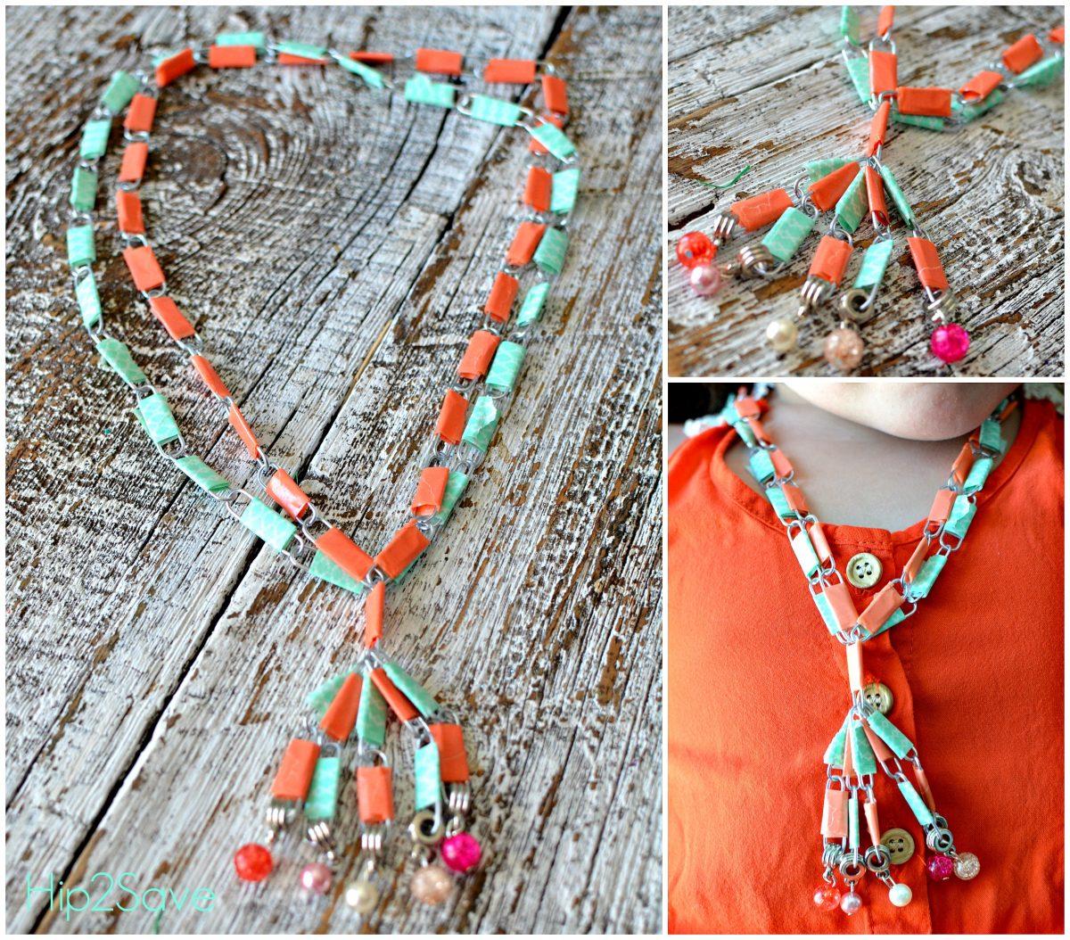 Paper Clip Necklace Hip2Save
