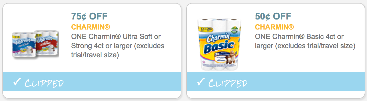 image relating to Charmin Coupon Printable named 3 *Clean* Charmin Discount coupons + Remarkable Package at CVS - Hip2Conserve