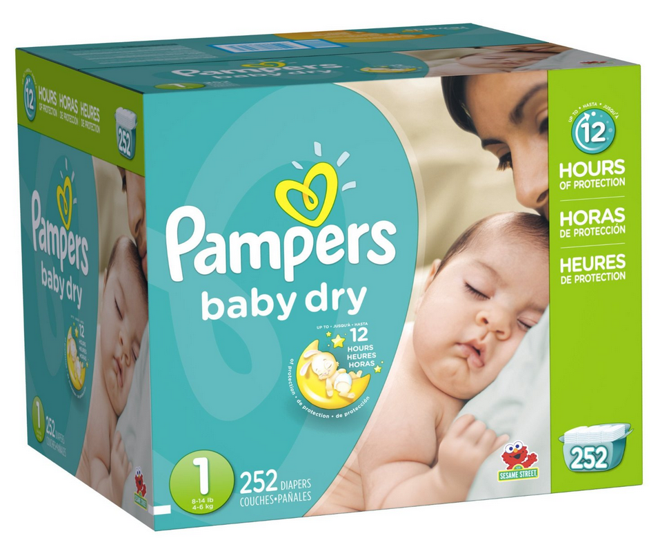 Amazon Mom Pampers Size 1 Diapers Only 13 162 Per Diaper