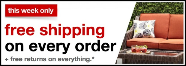 Target Com Free Shipping On All Orders Hip2save