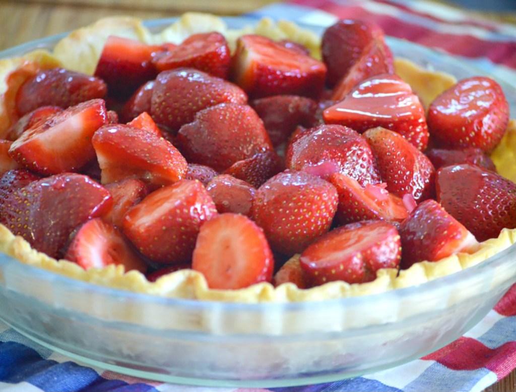 berries in crust