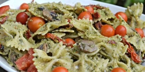 Cold Pesto Pasta Salad Recipe