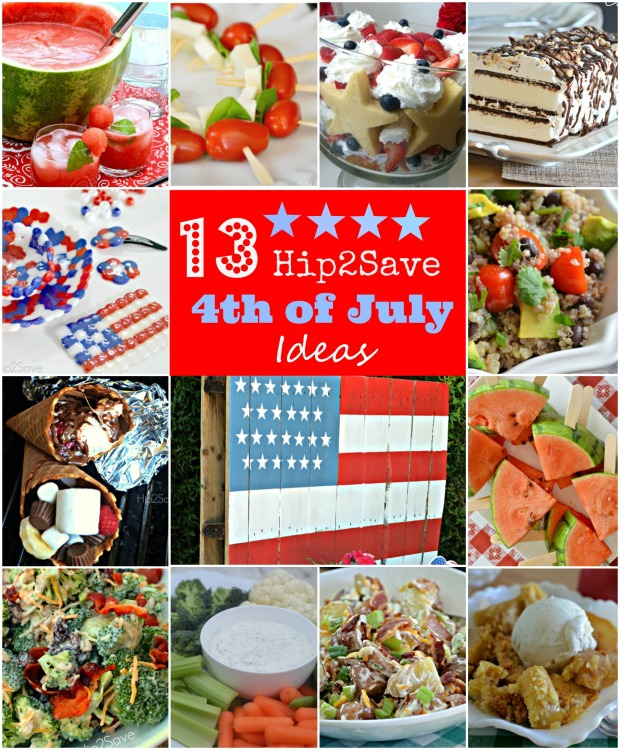 13 Easy & Creative ★Fourth of July Ideas★