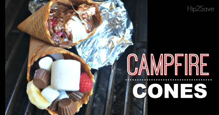 Campfire Cones Hip2Save