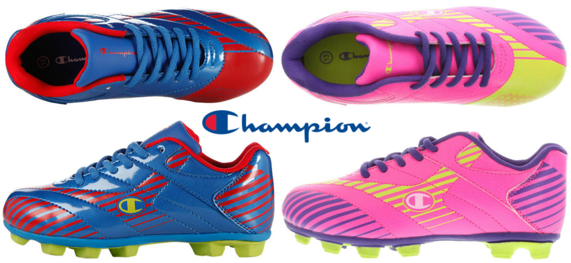 Pairs of Champion Toddler Sport Cleats