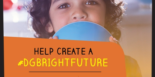 Dollar General's Bright Future Movement: $1 Donated to the Literacy Foundation w/ Every Sign Up