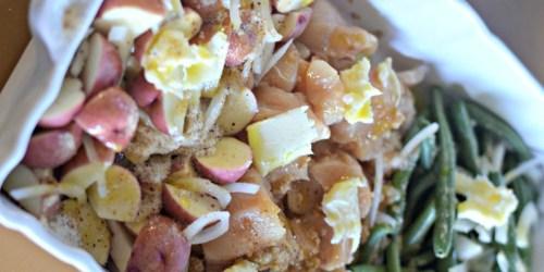 Easy 5 Ingredient Italian Chicken Bake