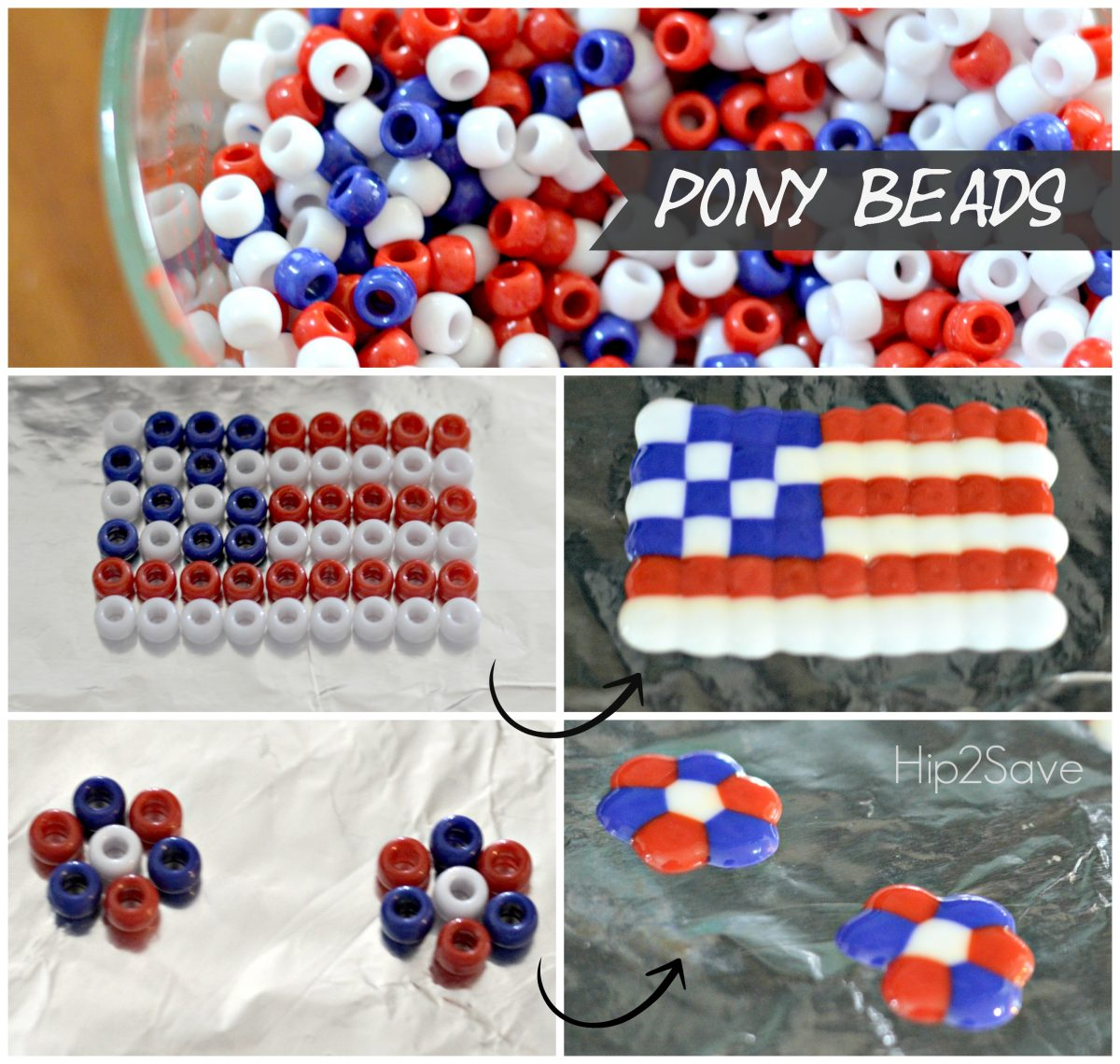 How to turn pony beads into a fun kids craft by Hip2Save.com