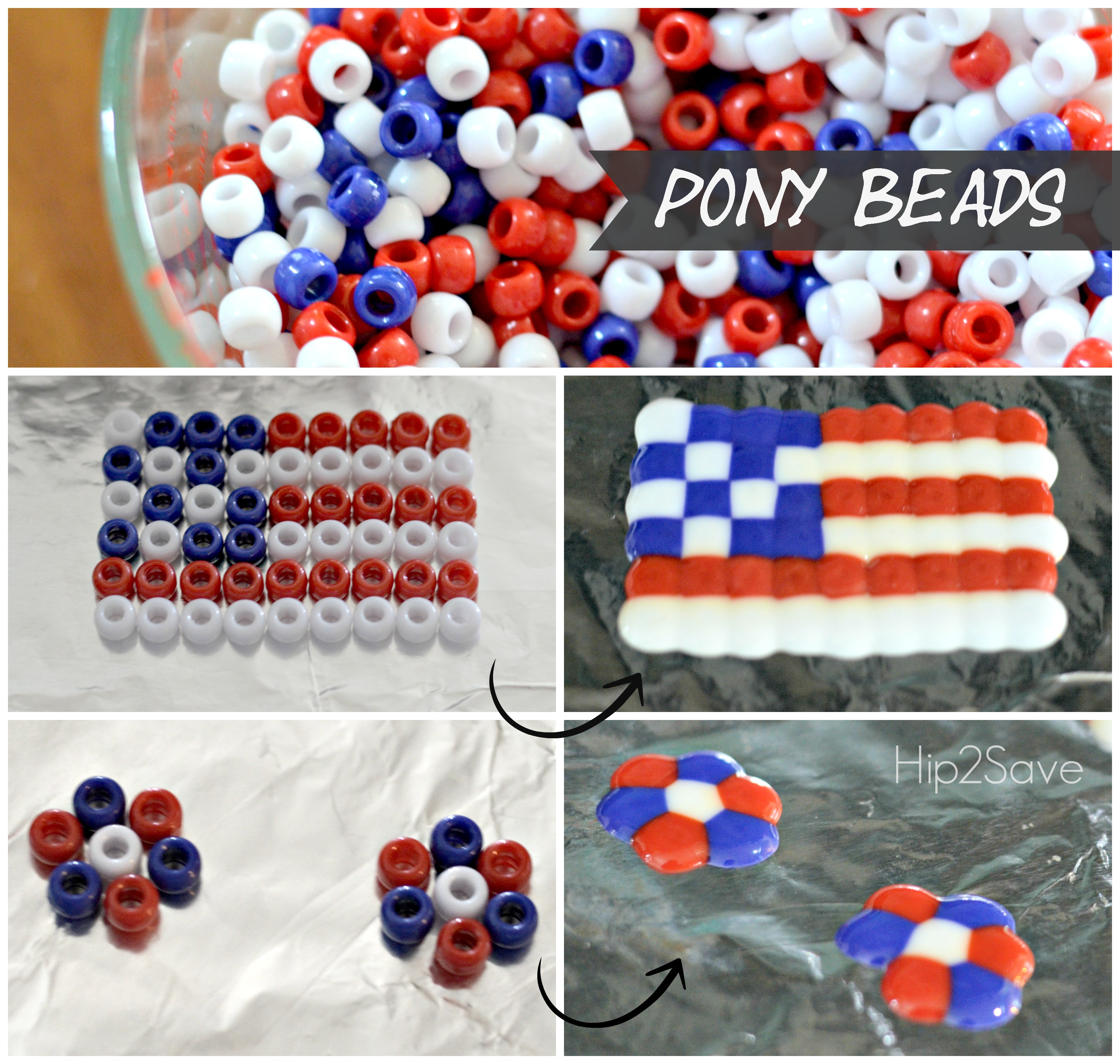 Melted Beads Craft Great For Kids Hip2save