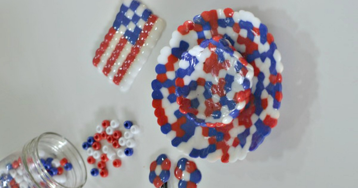 melted bead craft